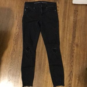 Articles of Society size 24 black jeans